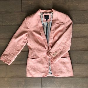 The Limited pale pink blazer